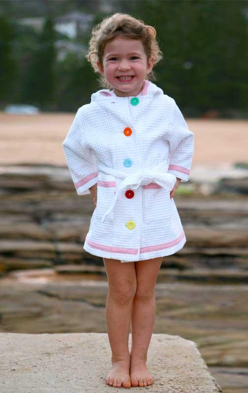 Hoodie Swim Robe
