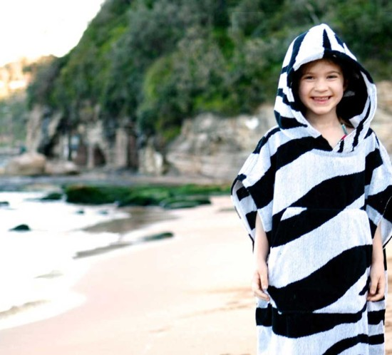 Surfing Ponchos for Kids