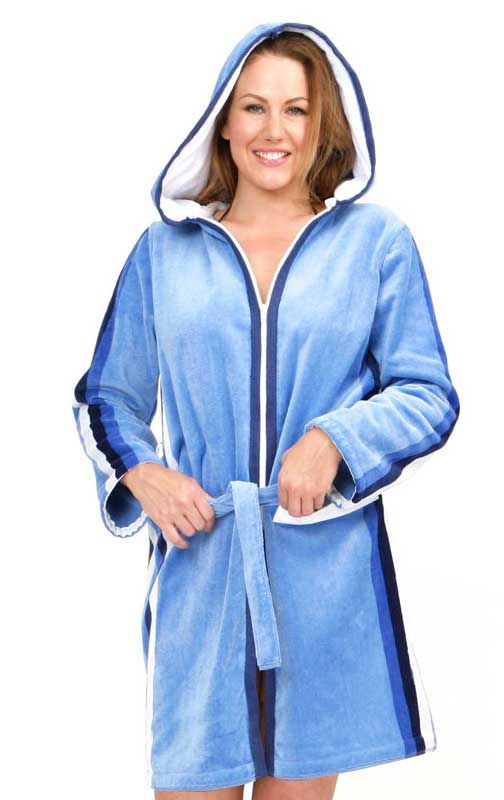 Plus Size Towelling Robe